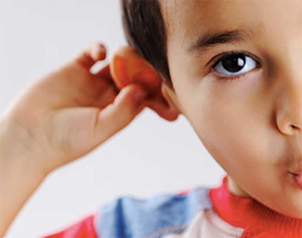 التهاب الاذن الوسطى عند الاطفال