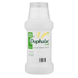 شراب دوفالاك لعلاج الامساك المزمن عند الاطفال