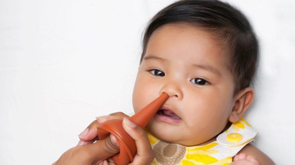 التخلص من البلغم عند الرضع