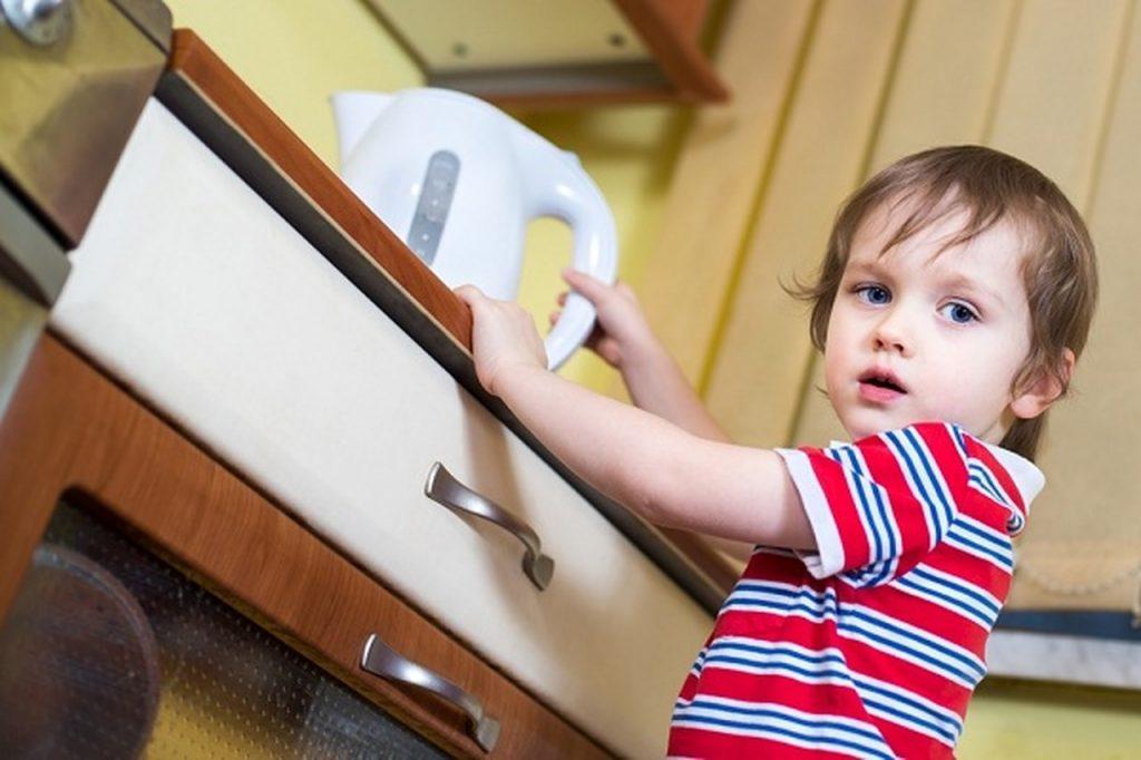 الاسعافات الاولية في حالة الحروق عند الاطفال