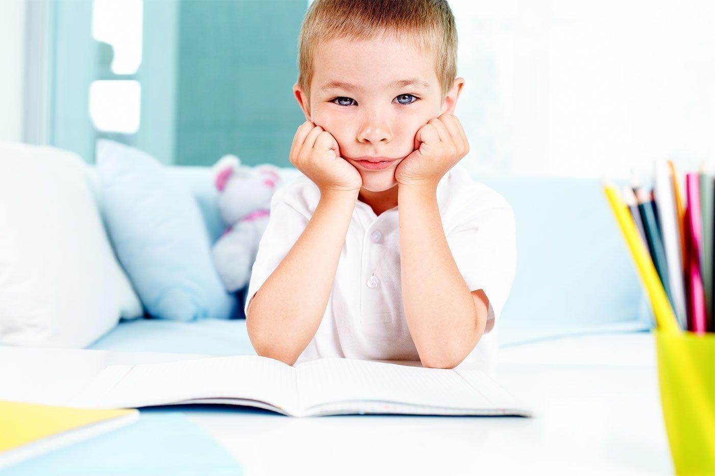 الكسل واللامبالاة عند الاطفال