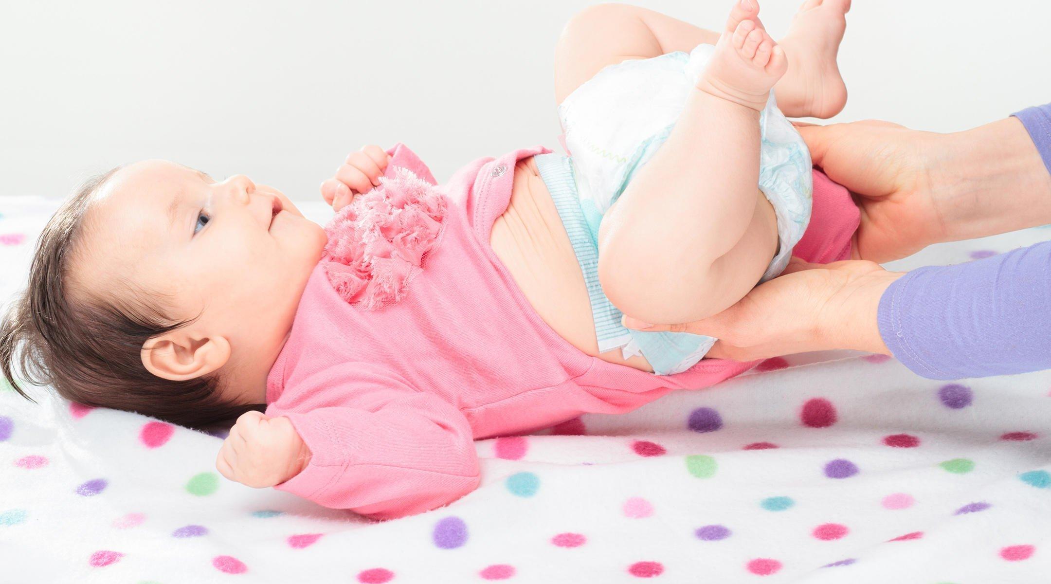 الاسهال عند الرضع