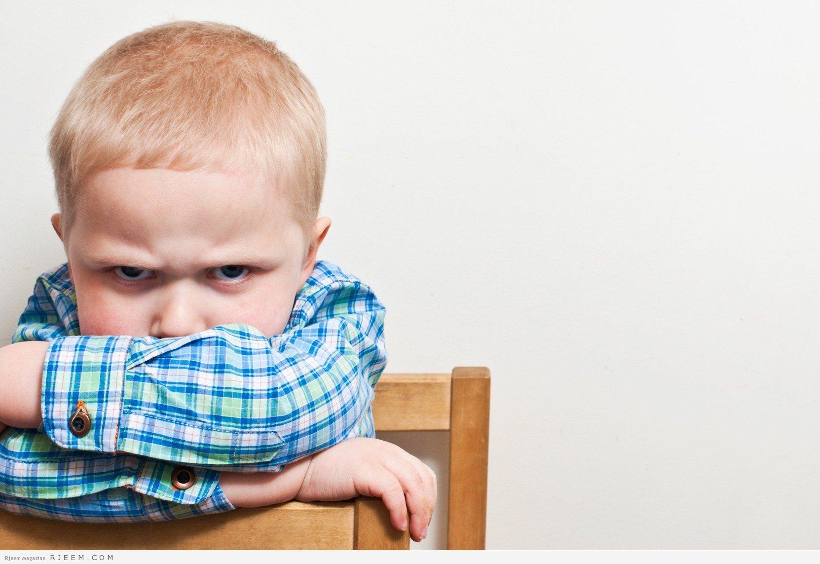 ظاهرة العناد عند الاطفال