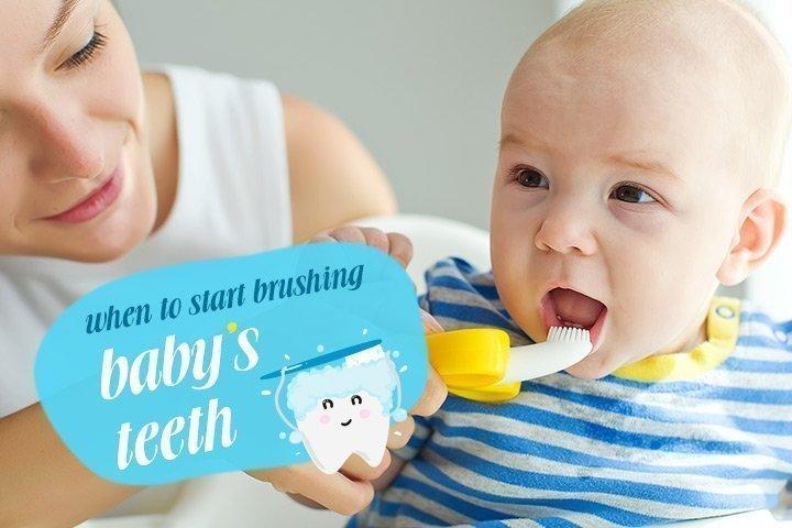 سؤال وجواب عن تنظيف اسنان الاطفال بالفرشاة