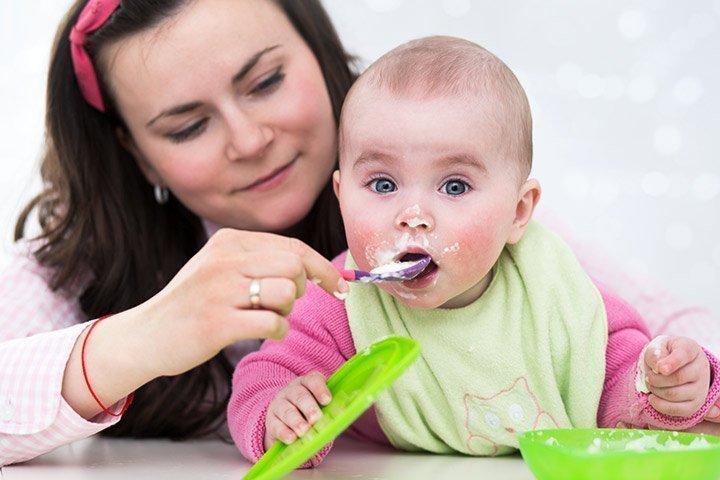 متى ياكل الرضيع الشوفان
