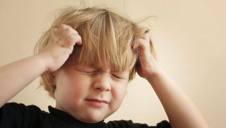 علاج حشرات الشعر عند الاطفال