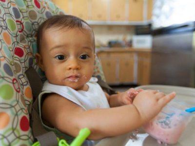 جدول طعام الطفل في الشهر السابع