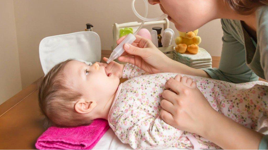 علاج الخنفرة والرشح عند الرضع