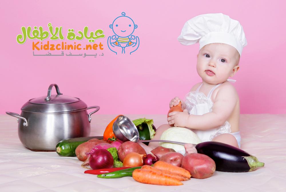 اكلات الاطفال ، 21 وصفة منزلية لطعام الرضع بعد الشهر السادس
